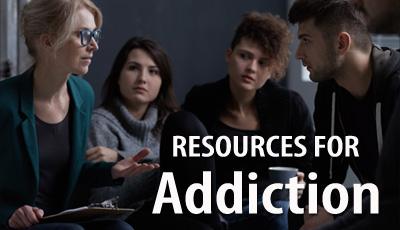 Resources for Addiction