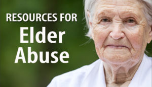 Resources for Elder Abuse