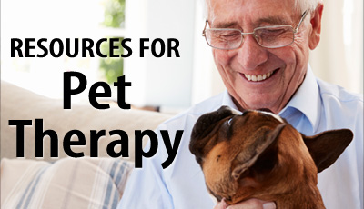 Resources for Pet Therapy