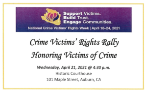 Crime Victims Rights Rally